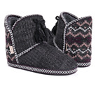 Muk Luks A La Mode Women's Fur Lined Bootie Slippers