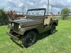 1955+Willys+Model+38+Truck+Military+Jeep