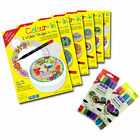 PME Colour-In Edible Sugar Sheet Paper Topper Colouring Drawing Cakes Cupcakes