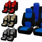 New 4 Color 9 Parts Universal Car Seat Covers Set Car for Auto SUV Truck Van