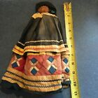 Florida Seminole Native American Palmetto Body Antique Doll