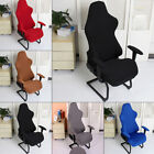 Computer Stretch Racing Gaming Chair Seat Cover Slipcover Armchair Covers Decor