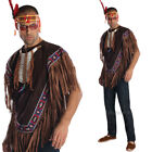 Native American Indian Poncho and headband