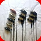 TaylorMade, Palm Springs, Pro Select, Spalding.. Woods golf Clubs, Steel Shafts