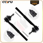 2x Lower Ball Joints 2x Outer Tie Rods Kit For Chevy Camaro & Pontiac Forebird