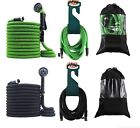 2019 Best Expandable Garden Hose Set with Hanger + Nozzle + Bag - 25 50 75 100FT