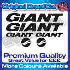 Premium Quality Giant solid Bike Decals Stickers mountain bike road frame mtb