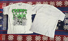 NEW VTG RARE - 80's THE CRAMPS Concert t-shirt 80's punk rock rockabi REPRINT... image