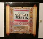 "Rare - Cantor Naftall Herstic - 12"" LP Israel  With Explanation Notes Booklet"