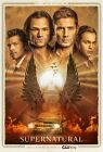 Supernatural Season 15 Poster - Sam Dean Castiel Jack - 11x17 13x19 - NEW