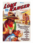 The Lone Ranger Magazine - August 1937 Cover - poster print image