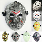Halloween Party Jason Vorhees Painted Hockey Mask Fancy Friday 13th Accessory