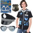 MENS LADIES POLICEMAN POLICEWOMAN HALLOWEEN COSTUME FANCY DRESS OUTFIT UNIFORM