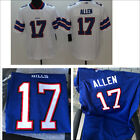 Men's Buffalo Bills NO.17 Josh Allen Jersey White/Blue M-3XL $52.99 USD on eBay