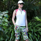 BNWT, Golf Top and Shorts in Tropical Print, FREE SHIPPING!
