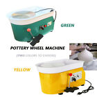 Pottery Wheel Pottery Machine For Ceramic Work Ceramics Clay Green Or Yellow US image