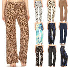 Kyпить S-XL Casual Lounge Wide Leg Drawstring Pants Prints Pajama Soft Stretch Relaxed на еВаy.соm