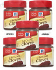 McCormick Ground Cloves,0.9oz-Powder Spice-Cooking Aromatic Seasoning 1 2 5 Pick