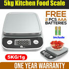 1byone Kitchen Scale Digital 11 lb 5kg Multifunction Food Cookin Weight Scale US photo