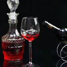 1 2pcs Red Wine Glasses Lead Free Crystal Glass Shark Design Party Decor Gift