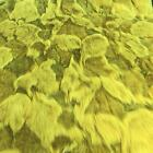 Super Luxury Faux Fur Fabric Material - SPRING GREEN