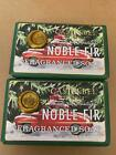 2 Castelbel Scented Bar Soap Wrapped Gift Noble Fir Red Pine Holiday Christmas