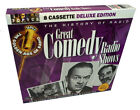 Old Time Great Comedy Radio Shows on 8 Audio Cassettes - Jack Benny, Fred Allen