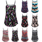 Fashion Womens Summer Printed Sleeveless Vest Blouse Tank Tops Camis Clothes