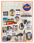 New York Mets History Timeline poster print on Ebay