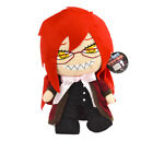 10~12'' Japaness Anime Black Butler Ciel Sebastian Grell Plush Doll Stuffed Toy