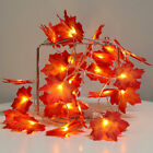 30 LED Thanksgiving Decorations Lighted Fall Garland Home Decor indoor Outdoor