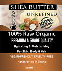 Shea butter, RAW, Unrefined Organic 100% Pure and Natural Skin Body Face A Grade