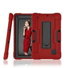 For RCA Voyager 7 Inch Case Hybrid Duty Shockproof Hard Armor Stand Cover