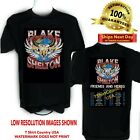 BLAKE SHELTON T Shirt 2020 Friends and Heros Concert Tour Sizes S-6X Tall Sizes image