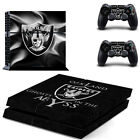 Choose Console - Oakland Raiders - Vinyl Skin + 2 Controller Skins [0179] $15.85 USD on eBay
