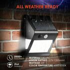 46LED Solar Powered Wall Lights Home Garden Security Outdoor Lamp Waterproof