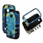 FOR SAMSUNG GALAXY ILLUSION i110 TRIPLE LAYER BOX HYBRID CASE COVER  CASES