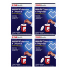 CVS Health Complete Needle Collection & Disposal System  Disposal mailing box