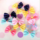 50/100 Hair Bows For Small Dog Cat Pet Puppy Bowknots DIY Grooming Accessory US