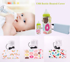 1/2/3Pcs Portable USB Baby Bottle Warmer Travel Cup Heater Infant Milk Feeding
