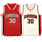 Stephen Curry #30 Davidson College Basketball Jersey Stitched S-2XL