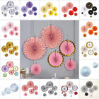 Paper Fans Wall Hanging Decorations Wedding Party Accessories Events Supplies $14.78 USD on eBay