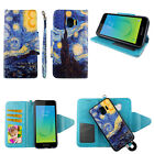 WALLET CASE FOR SAMSUNG GALAXY J2 CORE PURE DASH MAGNETIC FLIP CARD SLOT COVER