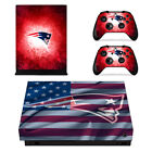 Choose Console - New England Patriots - Vinyl Skin + 2 Controller Skins [0101] $15.85 USD on eBay