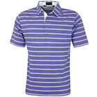 Bobby Jones Mens Performance Blend Stripe Golf Polo Shirt 57% OFF RRP