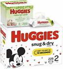Huggies Snug  Dry Baby Diapers Size 3 fits 16-28 lb 210 Count ONE MONTH Supply