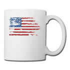 """American Flags"" Coffee/Tea Mug image"