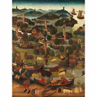 The Saint Elizabeths Day Flood Painting Large Wall Art Print 18X24 In