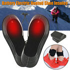 Rechargeable Heated Insoles Foot Warmer Heater USB Shoes Pad Boots Charging 2019