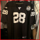 MEN'S S-3XL Oakland Raiders JOSH JACOBS JERSEY #28 BLACK for Fan Gift $39.49 USD on eBay